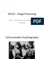EE 610 M1 Introduction to Imaging