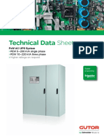 Gutor Technical Data Sheet Px w