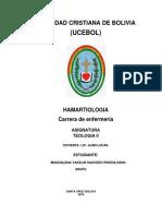 HAMARTIOLOGIA