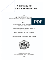 History of Indian Literature 1_Maurice Winternitz 1927
