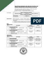Cronograma Asimilacion Promoción 2019