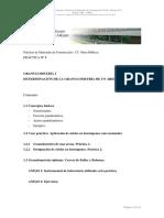 Determinación de la Granulometría de un Árido _ Granulometría I