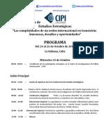 1Programa IV Conferencia de Estudios Estrategicos 2018 Version Final
