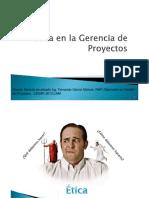Etica en Gestion de Proyectos