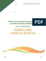 Formulario ciencias basicas