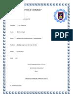 Produccion de Aminoacidos y Biopolimeros