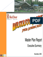 Waskasoo Park Special Gathering Places Master Plan Report