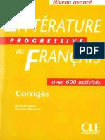 LittVrature Progressive AvancV Cor 2005