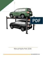 Hydro-Park 2236 Manual