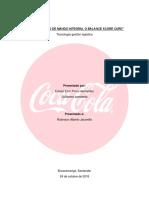 Cuadro de Mando Diseño Coca Cola