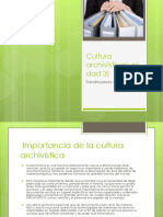 Cultura Archivistica(Unidad 3)