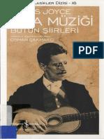 James Joyce - Oda Müzigi - Bütün Şiirleri_CS