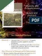 Elasticity & Its Applications