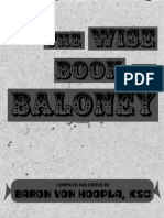 Wise Book of Baloney