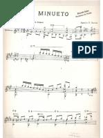 Augustin Barrios - Minueto.PDF