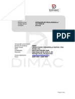 Programa Operacion y Mantencion de Grua Horquilla PDF 299 Kb