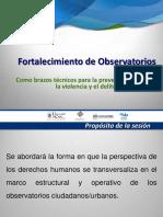 Derechos Humanos (EXP) Observatorio