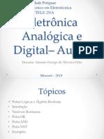 Eletrônica Analógica e Digital - Aula 3