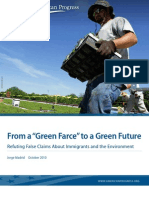 """From a """"Green Farce"""" to a Green Future"""