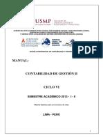 Teoria-manual Contabilidad de Gestión II - 2013 - i - II