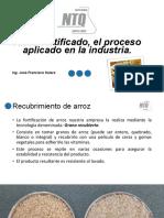 8 Arroz Fortificado El Proceso Aplicado en La Industria
