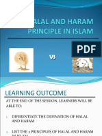 Topic 1- The Halal & Haram Principle in Islam