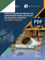 Guia de Diseño Para Sellos de Lechada Asfaltica (Slurry Seals 2017)