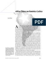 Horta. China en Latinoamérica