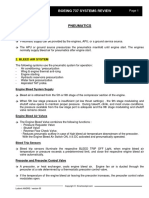 B737-Pneumatic Systems Summary