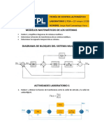 Laboratorio 1 teoría de control automático - UTPL