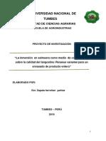 Proyecto Conservación de Langostino