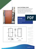 Brochure A0-A15 Internal Door Datasheet