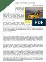 A Uberização Económica_ Nova Forma de Servidão
