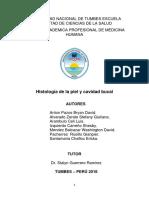 Histologia de La Piel y Cavidad Bucal