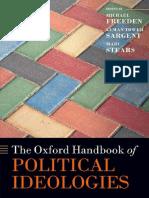 The Oxford Handbook of Political Ideologies-Oxford