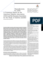Management of Hyperglycemia in Type 2 Diabetes 2018