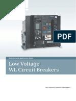 Low Voltage WL Circuit Breakers UL489