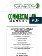 Commercial Law Memory Aid