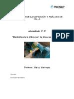 Laboratorio N° 1 - Mediciones de Valores Globales V2