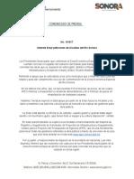 03-11-2018 Atiende Sidur peticiones de Alcaldes del Río Sonora