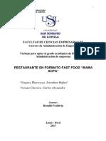Tesis Gestion Empr Fast Food