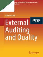 Audit Externe & Qualité (Anglais)