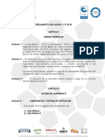 Reglamento Liga 2018 FUTBOL PROFESIONAL COLOMBIANO