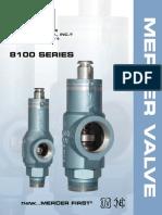 Mercer Valve 8100