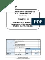 T-09 Diagnóstico de Fallas y Pruebas de Componentes de Grupos Electrógeno