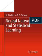 Neural Networks and Statistical Learning (Springer)-Ke-Lin Du 2014 834p