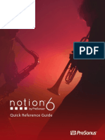 Notion6 Quick Reference Guide
