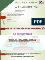 Medios para obtener información para Auditoria Administrativa