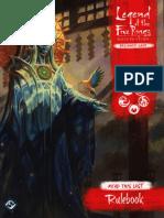 Legend of the Five Rings RPG - Beginners Game - 3. Rule Book (OCR)