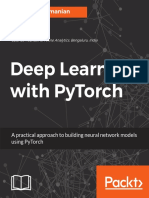 Deep Learning With PyTorch (Packt)-2018 262p
